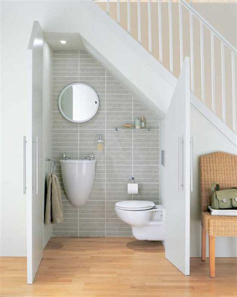 Bathroom Storage Ideas Under Sink 4 cool under staircase toilets and bathrooms