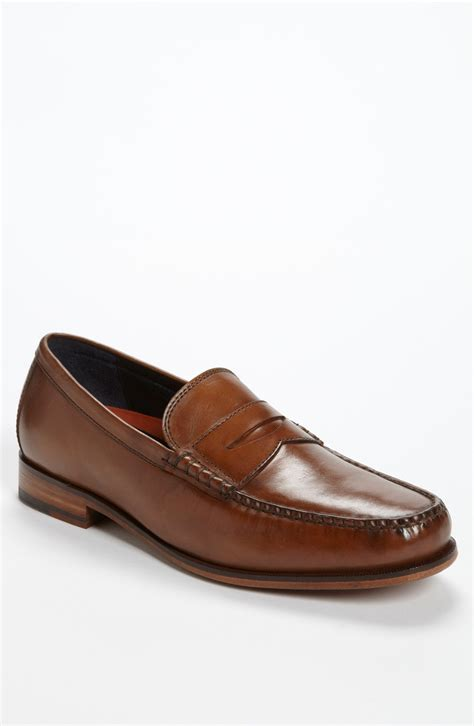 cole haan loafers for cole haan hudson square loafer in brown for