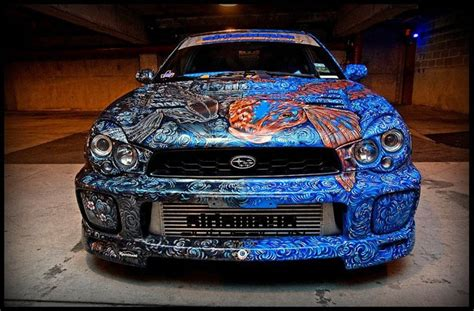 awesome car paint jobs automotive spray paint