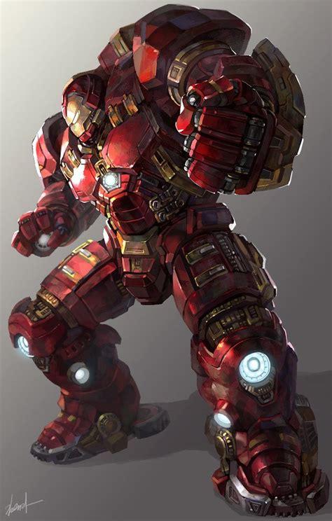 Iron Buster ironman hulkbuster yura on artstation at https www
