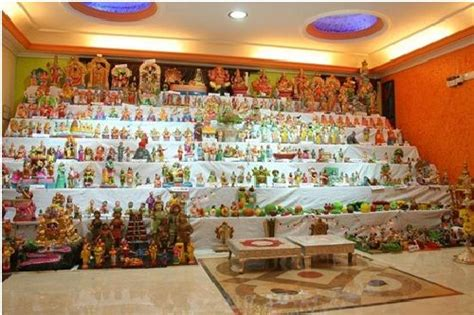 House Decoration Ideas the dasara gombe arrangement in a house mysore iyengar