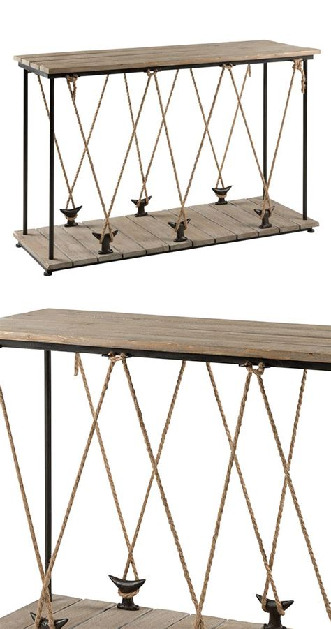 nautical sofa table 1000 ideas about nautical furniture on pinterest