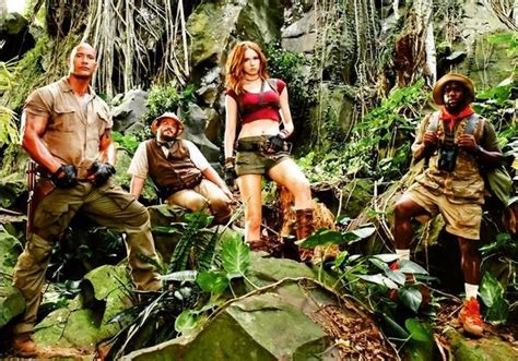 jumanji movie description dwayne johnson and karen gillan s jumanji reboot delayed 6
