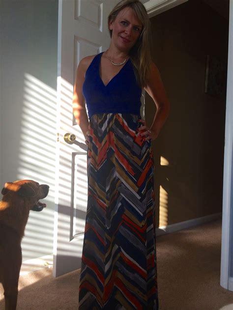 Sabilah Maxy gilli sabilah twisted back printed maxi dress for stitch