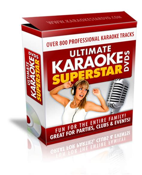 Dvd Karaoke 248 superstar karaoke dvds 800 karaoke songs on 4 karaoke