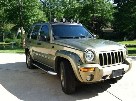 2002 Jeep Renegade Find Used 2002 Jeep Liberty Renegade Sport Utility 4 Door