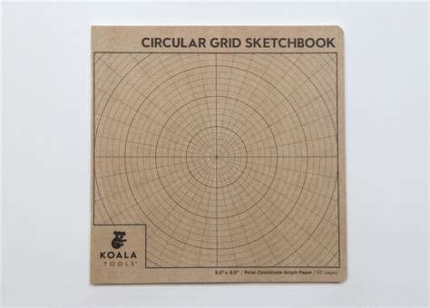sketchbook grid circular grid polar coordinate sketchbook