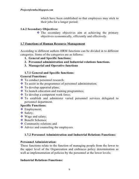Industrial Relations Notes For Mba Students by Human Resource Management E Notes