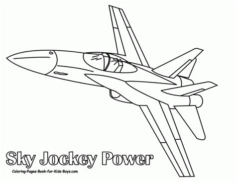 fighter jet plane coloring pages