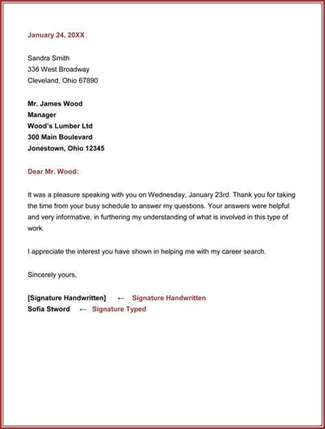 thank you letter after for management position thank you email sle cover