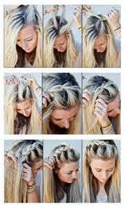 hairstyles tips and tutorial make a half up side braid