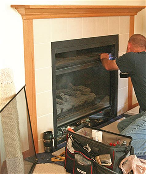 gas fireplace cleaning service fireplace maintenance gas wood fireplace service
