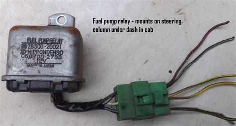 electric fuel pump wiring diagram electrical