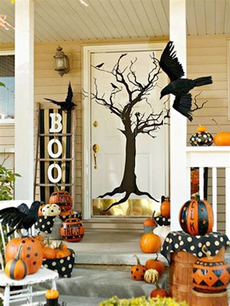 halloween home decor pinterest cute outdoor halloween decor all things halloween