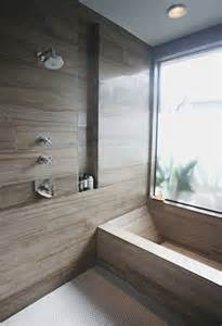 montage 15 bathrooms with porcelain wood effect tiles