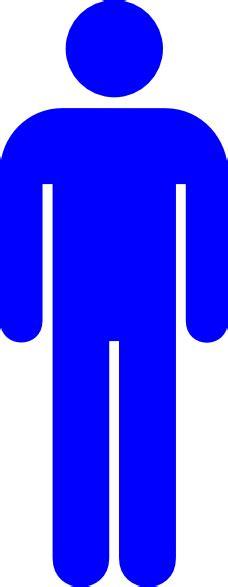 bathroom sign person blue male toilet symbol clip art at clker com vector