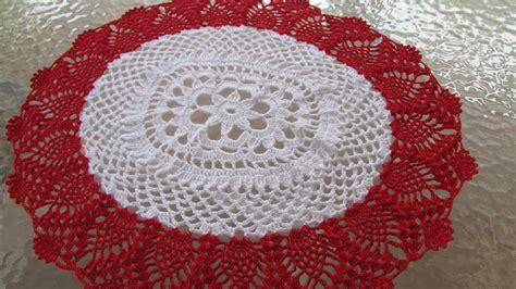 rincon de tejido centro de mesa carpeta a crochet modificada con nuevo