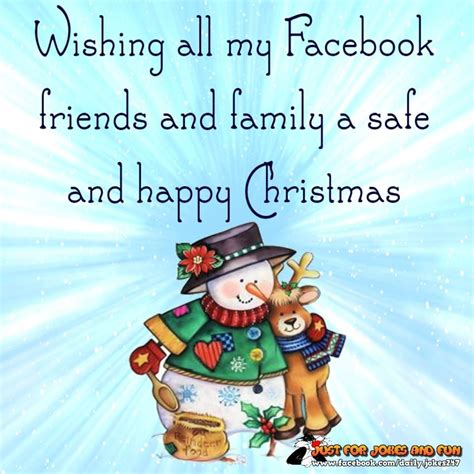 wishing   facebook friends  family  safe  happy christmas pictures