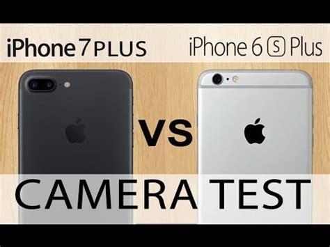 iphone 7 plus vs iphone 6s plus test