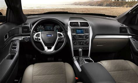 2014 Ford Interior by 2013 Ford Explorer Interior
