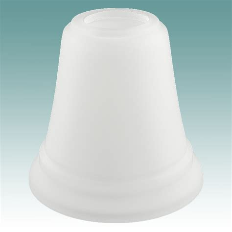 7905 frosted white neckless shade glass lshades