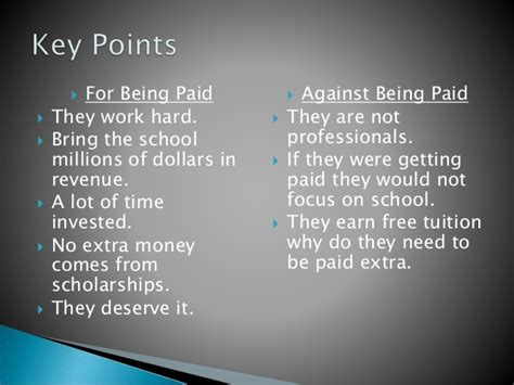 Should Ncaa Athletes Get Paid Essay by Paying College Athletes Essay Should Student Athletes Be Paid Essay College Athletes Should Phd