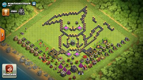 bases coc la familia clan view image les villages les plus funs clash of clans papys warriors