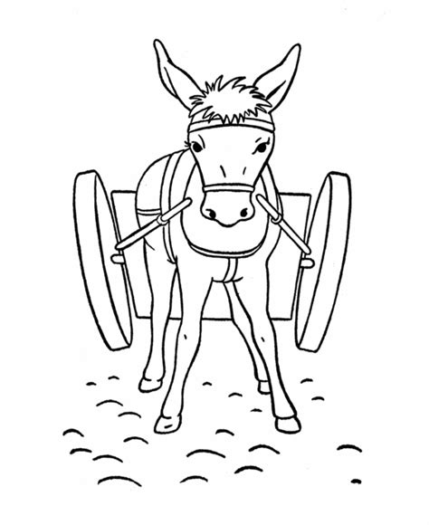coloring page of donkey donkey coloring pages az coloring pages