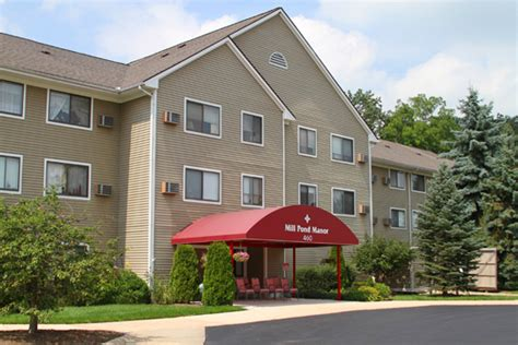 mill pond manor assisted living in saline michigan