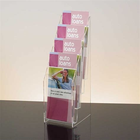 Brochure Racks Countertop by 12 Pocket Clear Acrylic Brochure Holder Countertop China