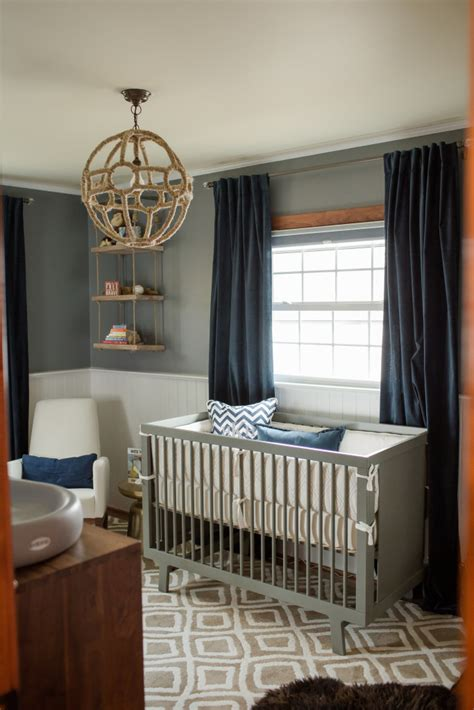 sophisticated modern nautical nursery project nursery