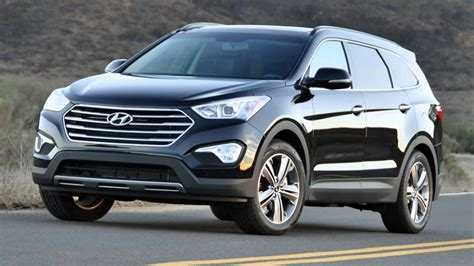 How Big Is A Three Car Garage hyundai unleashes large suv for 2015 car com ng