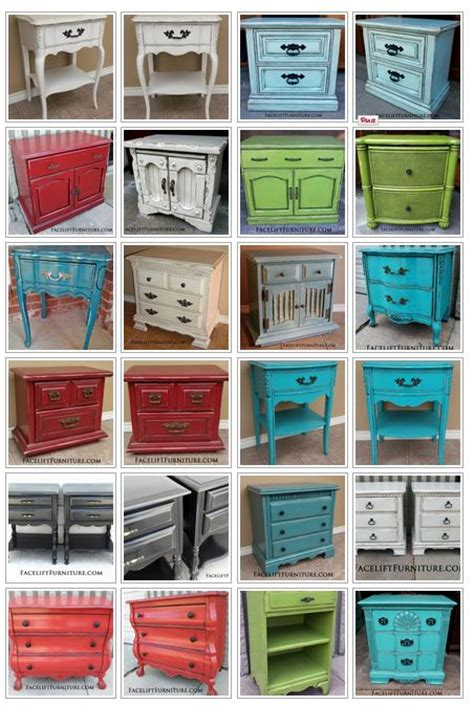 refinish ideas for bedroom furniture 25 best ideas about refinished nightstand on pinterest