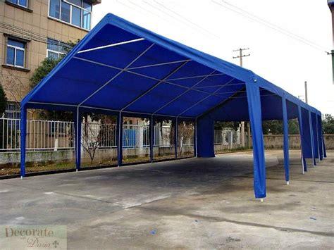 20 X 40 Carport tent 20 x 40 canopy wedding gazebo reunion carport shelter blue new decorate with