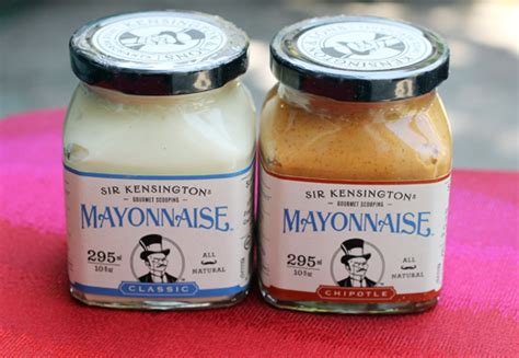 Gourmet Mayonais new gourmet mayo by sir kensington food gal