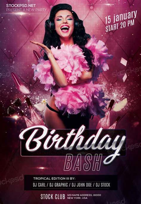 Bday Bash Flyer Template