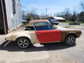 Porsche For Restoration For Sale by 1969 Porsche 911 Barn Find Restoration Project For Sale