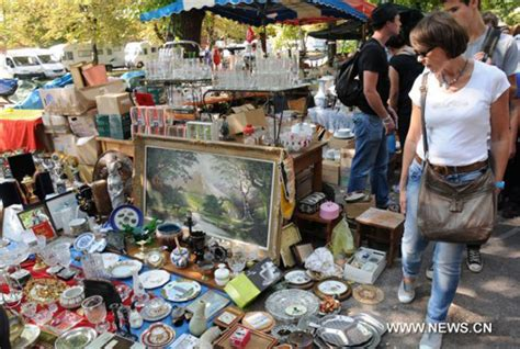 markets of paris second 1936941007 europe s biggest flea market opens in france s lille people s daily online