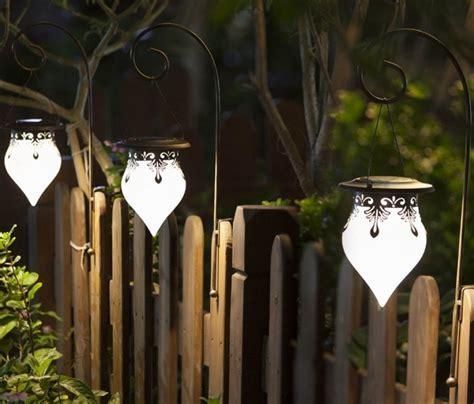 Cone Fence Solar Light   Fresh Garden Decor