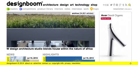 designboom readership the grid s top 20 architecture websites of 2014