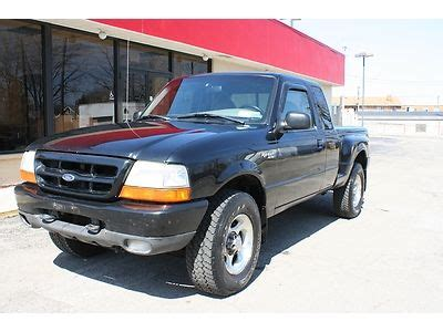 how cars run 1999 ford ranger parking system purchase used 99 00 ford ranger xlt off road 4x4 4door stepside 4 0l low miles 85k runs great