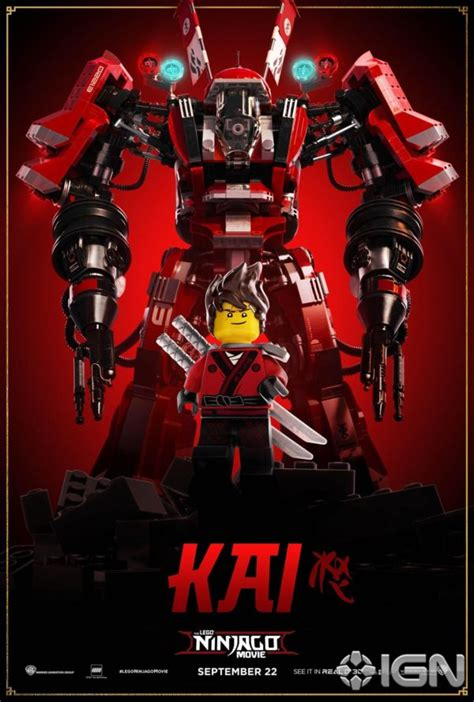 Robot Story 889 the lego ninjago gets a batch of character posters