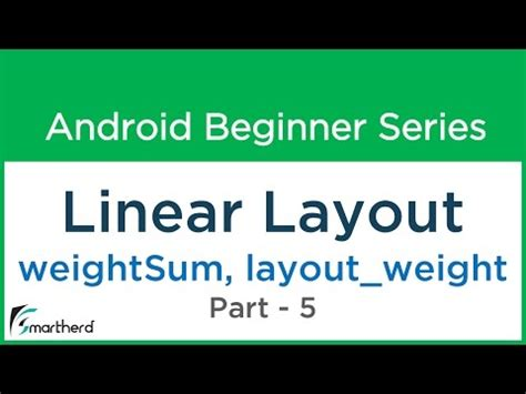 android relative layout weight sum 49 android tutorial linear layout 5 quot weightsum and
