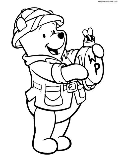 imagenes de winnie pooh sin pintar dibujos sin colorear dibujos de winnie the pooh para