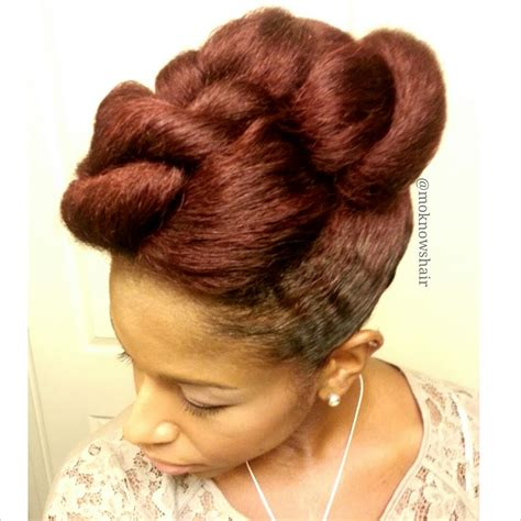 mohawk twist hairstyle twisted mohawk how to protective style youtube