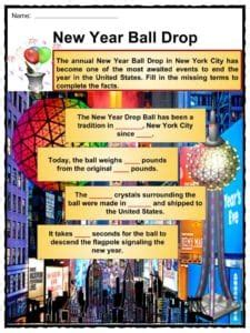 new year facts traditions new year facts worksheets traditions historical