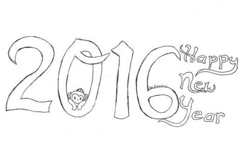new year monkey colouring pages kid crafts for year of the monkey new year
