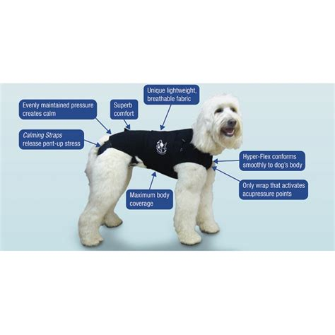 anxiety wrap anxiety wrap makes dogs feel safe and secure shopflipo