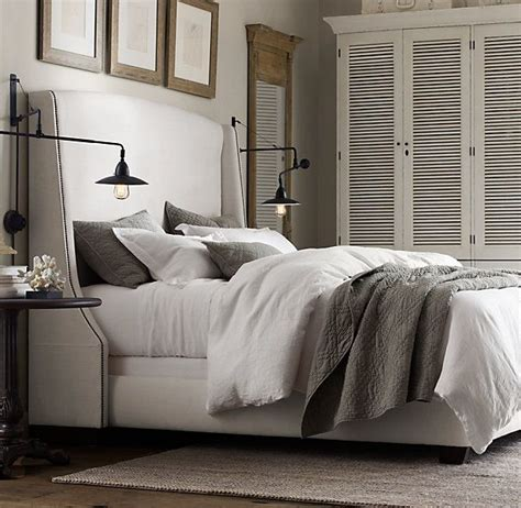 restoration hardware beds 25 best ideas about linen headboard on pinterest