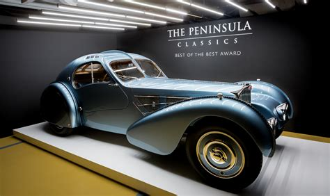 bugatti type 57sc atlantic 40m bugatti type 57sc atlantic wins the peninsula